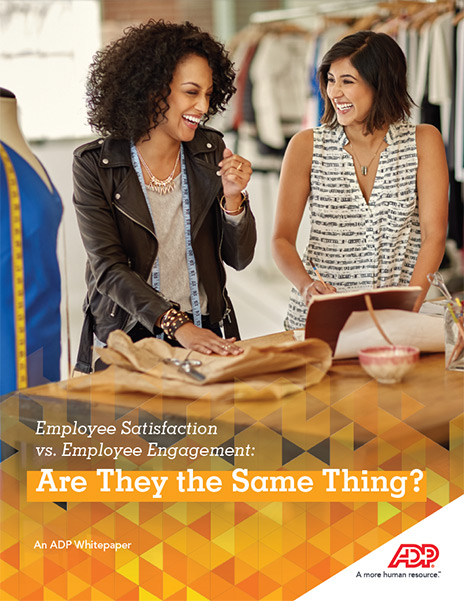 Do you want satisfied employees or engaged employees?