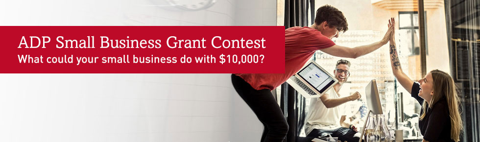 ADP Small Business Grant Contest
